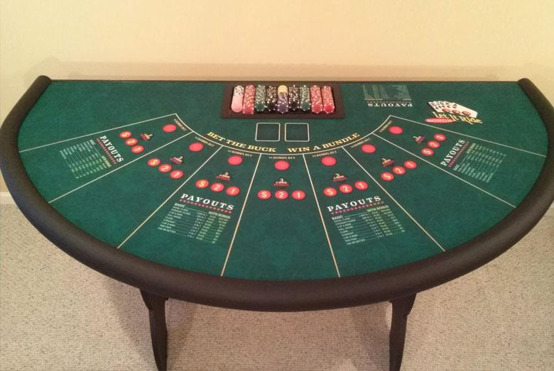 Casino Night Party Rentals NJ new jersey monmouth county Poker Table